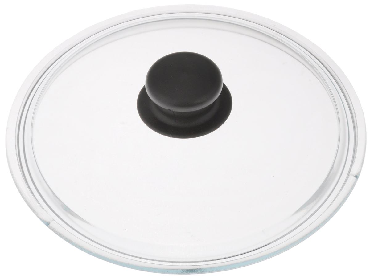 Крышка стеклянная Катюша. Диаметр 20 смфн200Крышка Катюша изготовлена из жаропрочного стекла. Ручка, выполненная из термостойкого пластика, защищает ваши руки от высоких температур. Крышка удобна в использовании и позволяет контролировать процесс приготовленияпищи. Можно мыть в посудомоечной машине.
