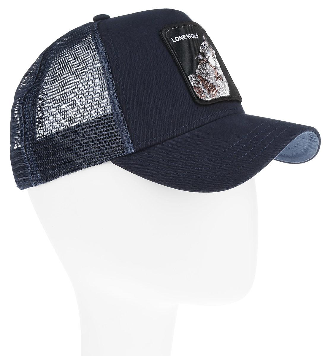 Бейсболка Goorin Brothers, цвет: темно-синий, черный. 90-279-06-00. Размер универсальный