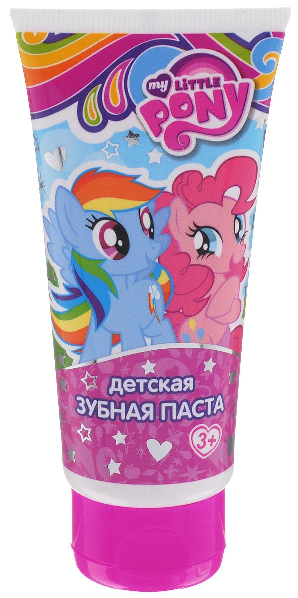 My Little Pony Зубная паста детская 65 мл31589Новый сюрприз от маленьких пони! Специально разработанная рецептура для детей от 3 лет и старше. Мягко очищает и освежает полость рта, эффективно защищает от кариеса, как молочные, так и постоянные зубы.Использовать под присмотром взрослых!Товар сертифицирован.