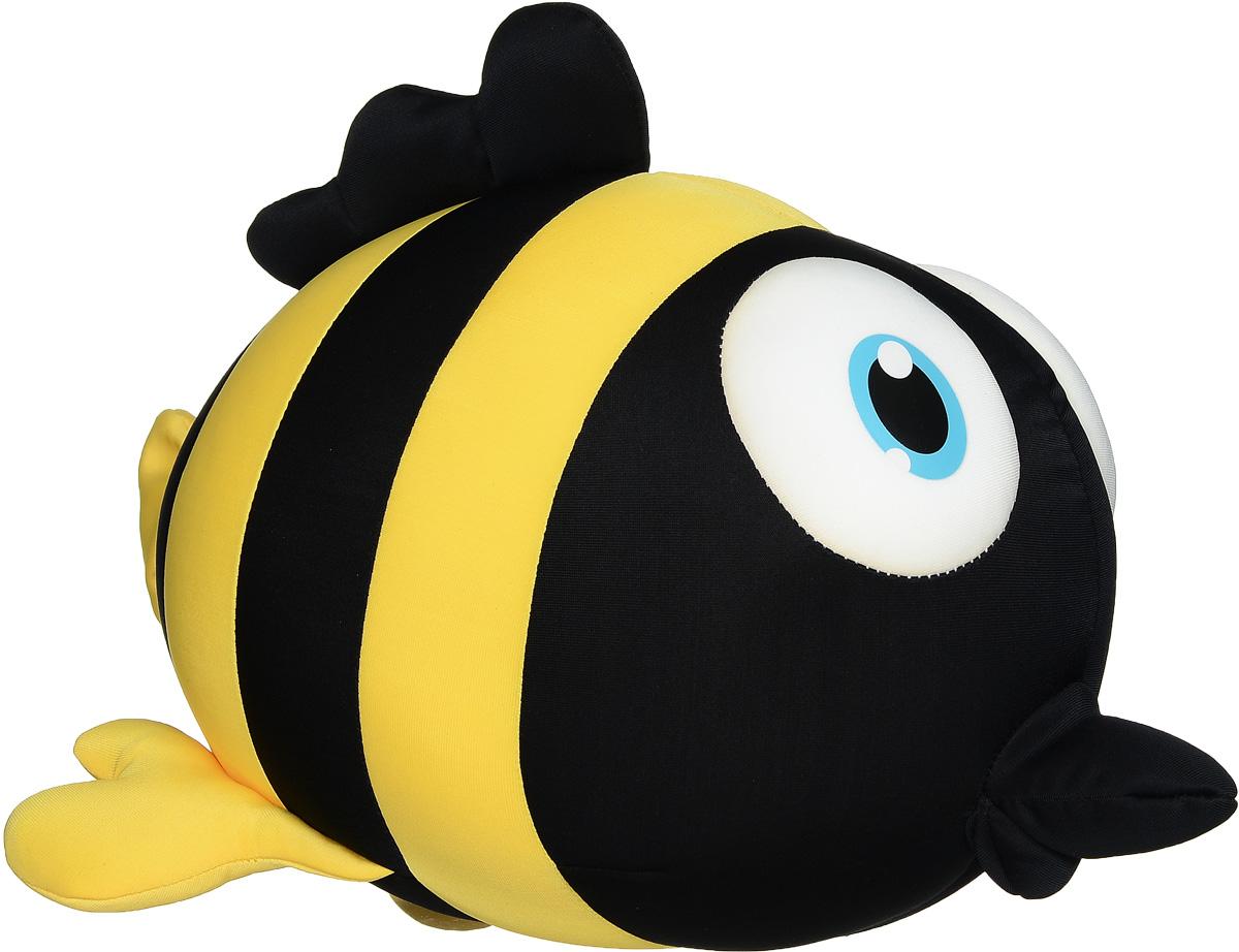 Maxi Toys Мягкая игрушка-антистресс Рыбка Пучеглазка 34 см maxi toys мягкая игрушка антистресс