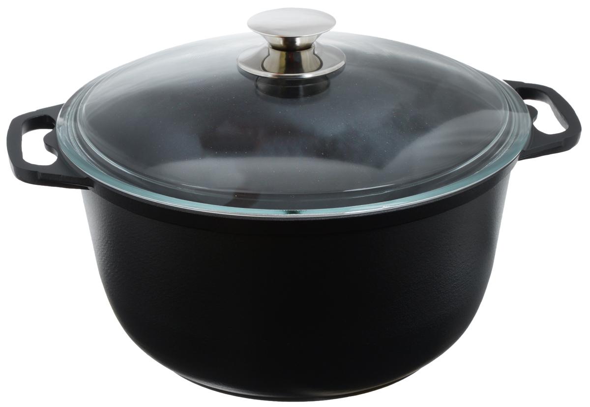 Кастрюля Катюша с крышкой, с антипригарным покрытием, 6 лк60с/аКастрюля Катюша, выполненная из литого алюминия с антипригарным покрытием Skandia, позволит вам приготовить вкуснейшие блюда. Благодаря хорошей теплопроводности алюминия, молоко или вода закипают в ней быстрее, чем в эмалированных кастрюлях. Кастрюля оснащена стеклянной крышкой, которая позволяет вам наблюдать за процессом готовки без потери тепла.Данная кастрюля отличается долговечностью и прочностью. Подходит для всех типов плит, кроме индукционных. Можно мыть в посудомоечной машине.Высота стенки: 14,5 см. Ширина кастрюли (с учетом ручек): 35,5 см.