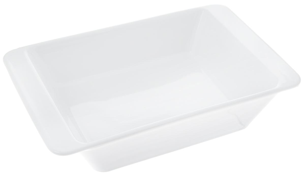 Форма для запекания Tescoma Gusto, прямоугольная, 25 х 16 см622014Прямоугольная форма Tescoma Gusto, выполненная из высококачественной керамики, отлично подходит для выпечки, запекания, сервировки и хранения блюд.Пригодна для всех типов духовок, холодильников и морозильников. Можно мыть в посудомоечной машине. Выдерживает температуру от -18°С до +240°С. Внутренний размер формы: 20 х 15 см. Внешний размер формы: 25 х 16 см.Высота стенки: 5,5 см.