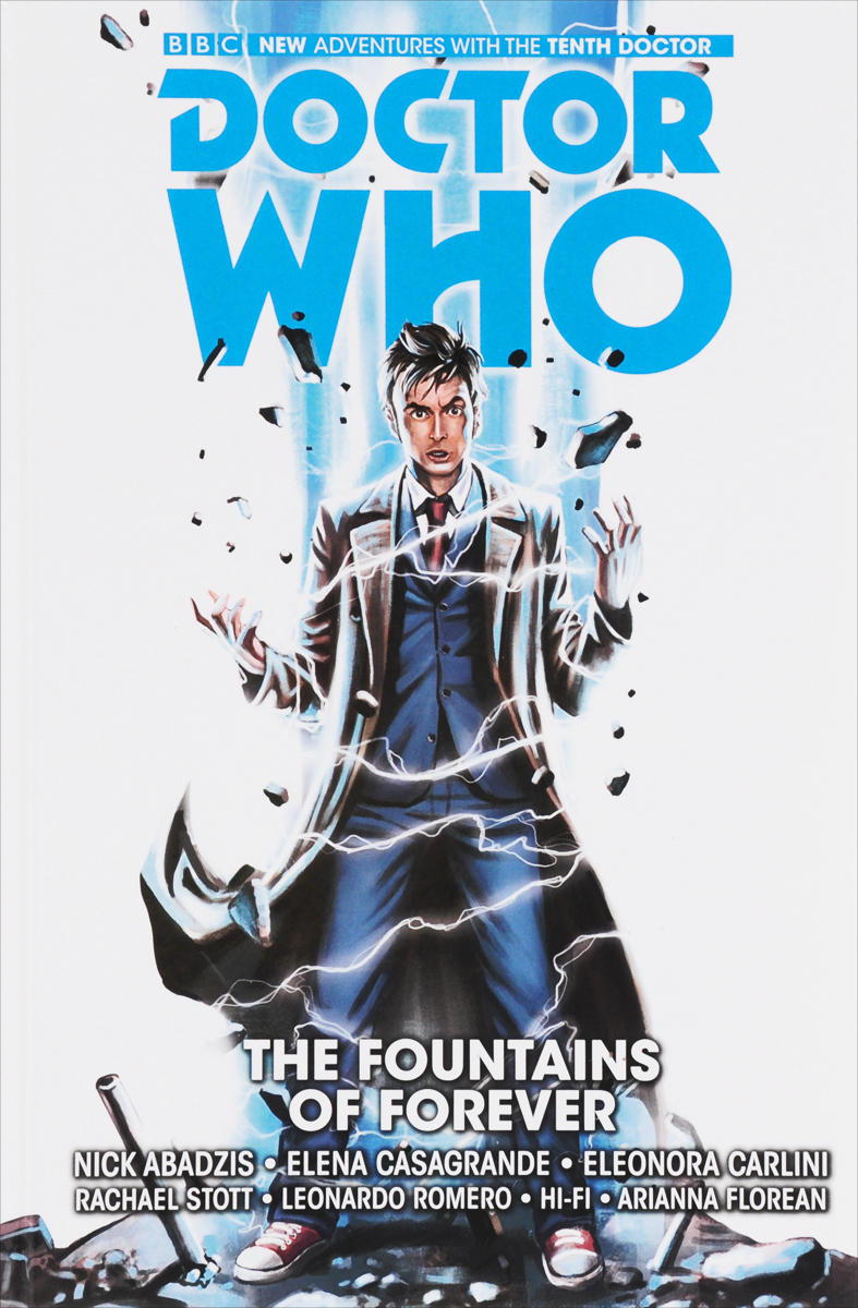 Doctor Who: The Tenth Doctor: Volume 3: The Fountains of Forever arnopp jason doctor who the gemini contagion