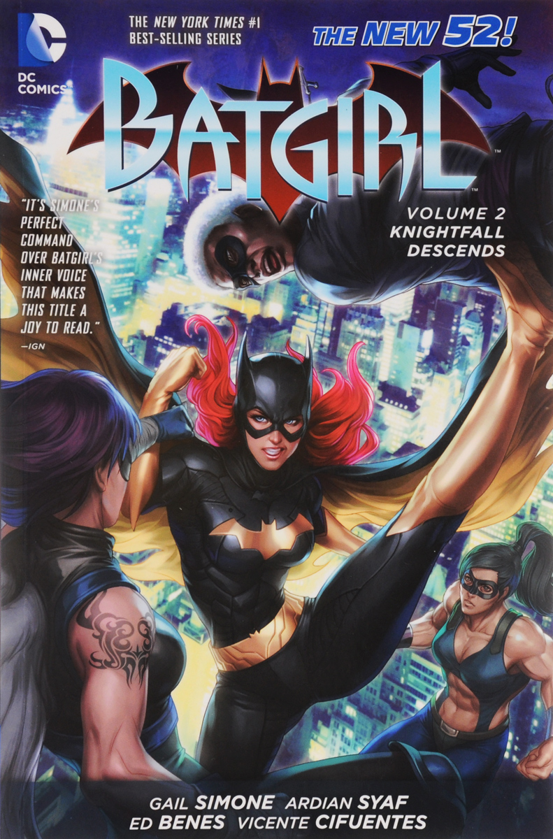 Batgirl: Volume 2: Knightfall Descends batman volume 1 the court of owls