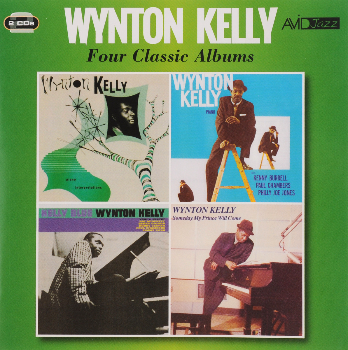 Уинтон Келли Avid Jazz. Wynton Kelly. Four Classic Albums (2 CD) каунт бэйси count basie four classic albums plus 2 cd