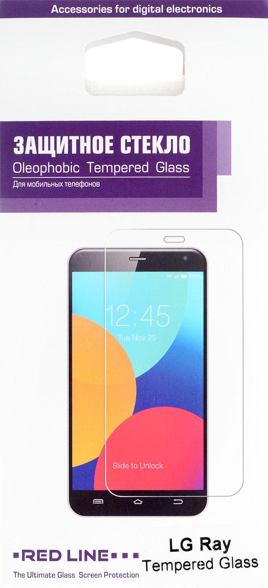Red Line защитное стекло для LG RayУТ000007813Защитное стекло Red Line для LG Ray предназначено для защиты поверхности экрана от царапин, потертостей, отпечатков пальцев и прочих следов механического воздействия. Оно имеет окаймляющую загнутую мембрану, а также олеофобное покрытие. Изделие изготовлено из закаленного стекла высшей категории, с высокой чувствительностью и сцеплением с экраном.