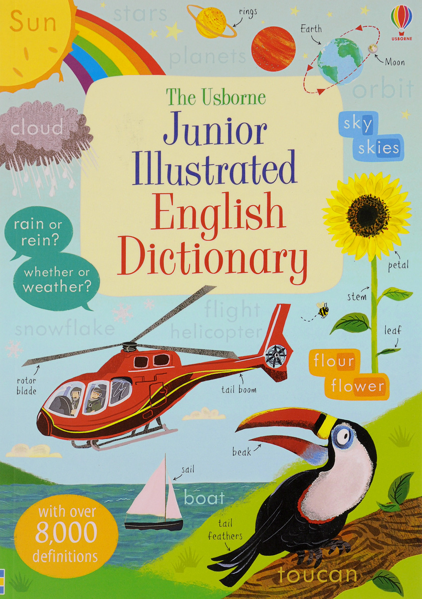 Junior Illustrated English Dictionary oxford school spelling dictionary