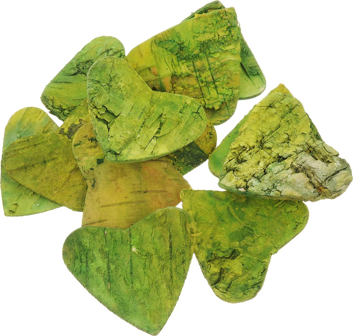 Декоративный элемент Dongjiang Art Сердце, цвет: зеленый, 10 шт7709011_зеленыйДекоративный элемент Dongjiang Art Сердце, изготовленный из натуральной коры дерева, предназначен для украшения цветочных композиций. Изделие можно также использовать в технике скрапбукинг и многом другом.Флористика - вид декоративно-прикладного искусства, который использует живые, засушенные иликонсервированные природные материалы для создания флористических работ. Это целый мир, в котором естьместо и строгому математическому расчету, и вдохновению.Размеры одного элемента: 5 х 5 см.