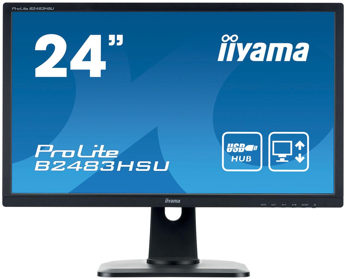 iiyama B2483HSU-B1DP, Black мониторB2483HSU-B1DPProLite B2483HSU-B1DP — высококачественный 24-дюймовый Full HD-дисплей, оснащенный светодиодной подсветкой и TN матрицей с временем отклика пикселей всего 2 мс. Наличие трех портов ввода (включая Display Port) и USB хаб обеспечивает полную совместимость со всеми новейшими графическими адаптерами. Регулируемая подставка HAS позволяет разворачивать и поворачивать, а также изменять положение экрана по высоте до 13 см. Это делает этот монитор пригодным для широкого спектра применений, особенно в тех случаях, когда эргономика и многофункциональность рабочего места являются ключевыми факторами. Монитор имеет сертификаты TCO6 и Energy Star. Модель идеально подойдет для образовательных, государственных, бизнес-структур и финансовых организаций.
