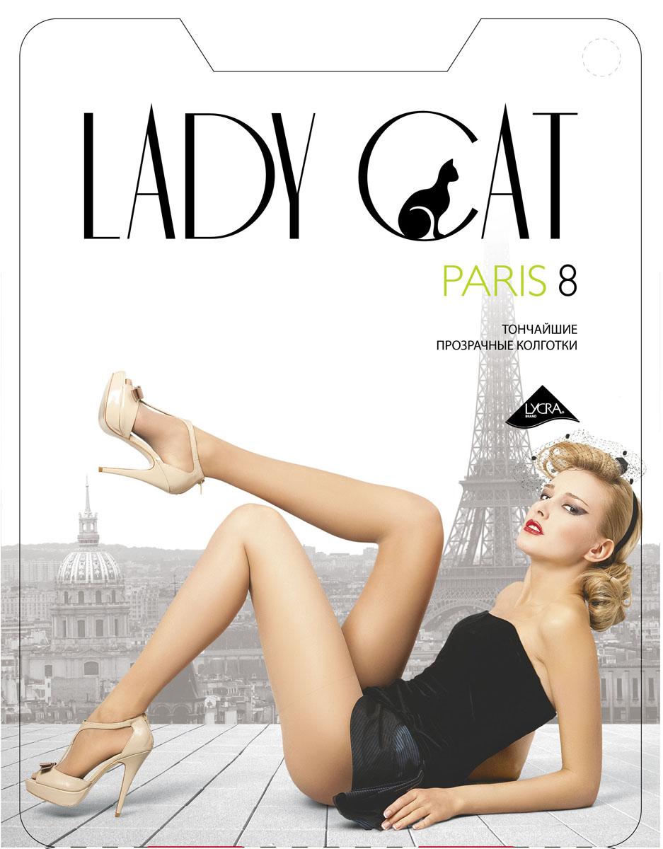 Колготки Lady Cat Paris 8, цвет: черный. Размер 4