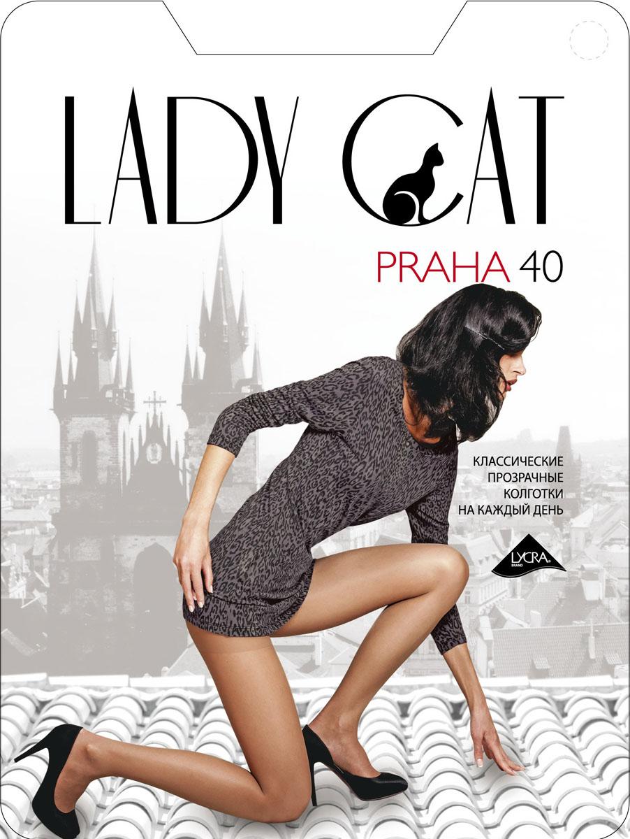 Колготки Lady Cat Praha 40, цвет: дымчатый. Размер 4 spine lady 357 40