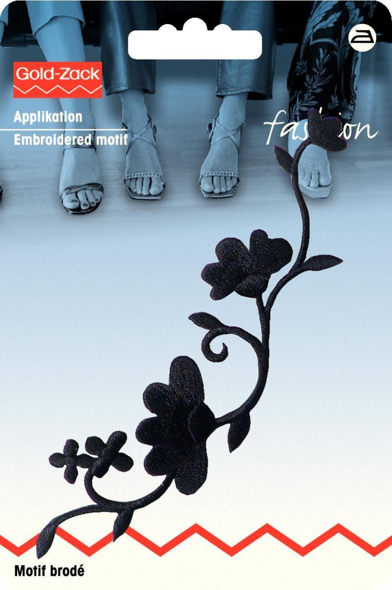 Zakazat.ru: Аппликация Prym Гирлянда из цветов, цвет: черный