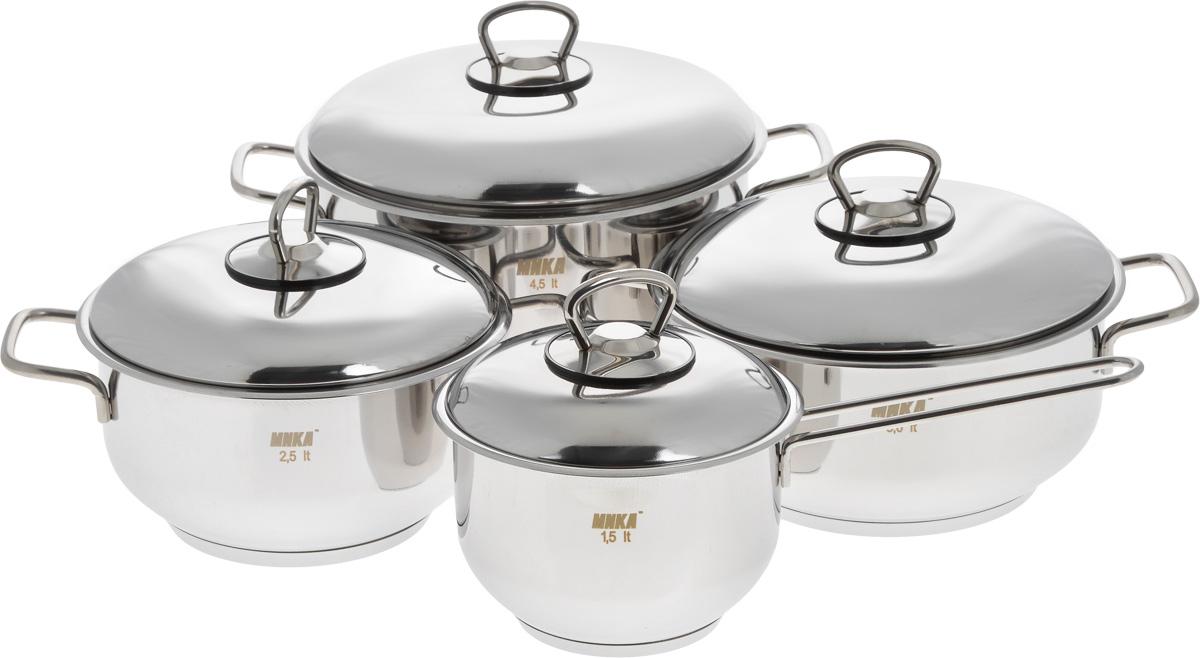 Набор посуды МИКА Стандарт, 8 предметов. мк300 набор посуды мика стандарт 8 предметов мк300