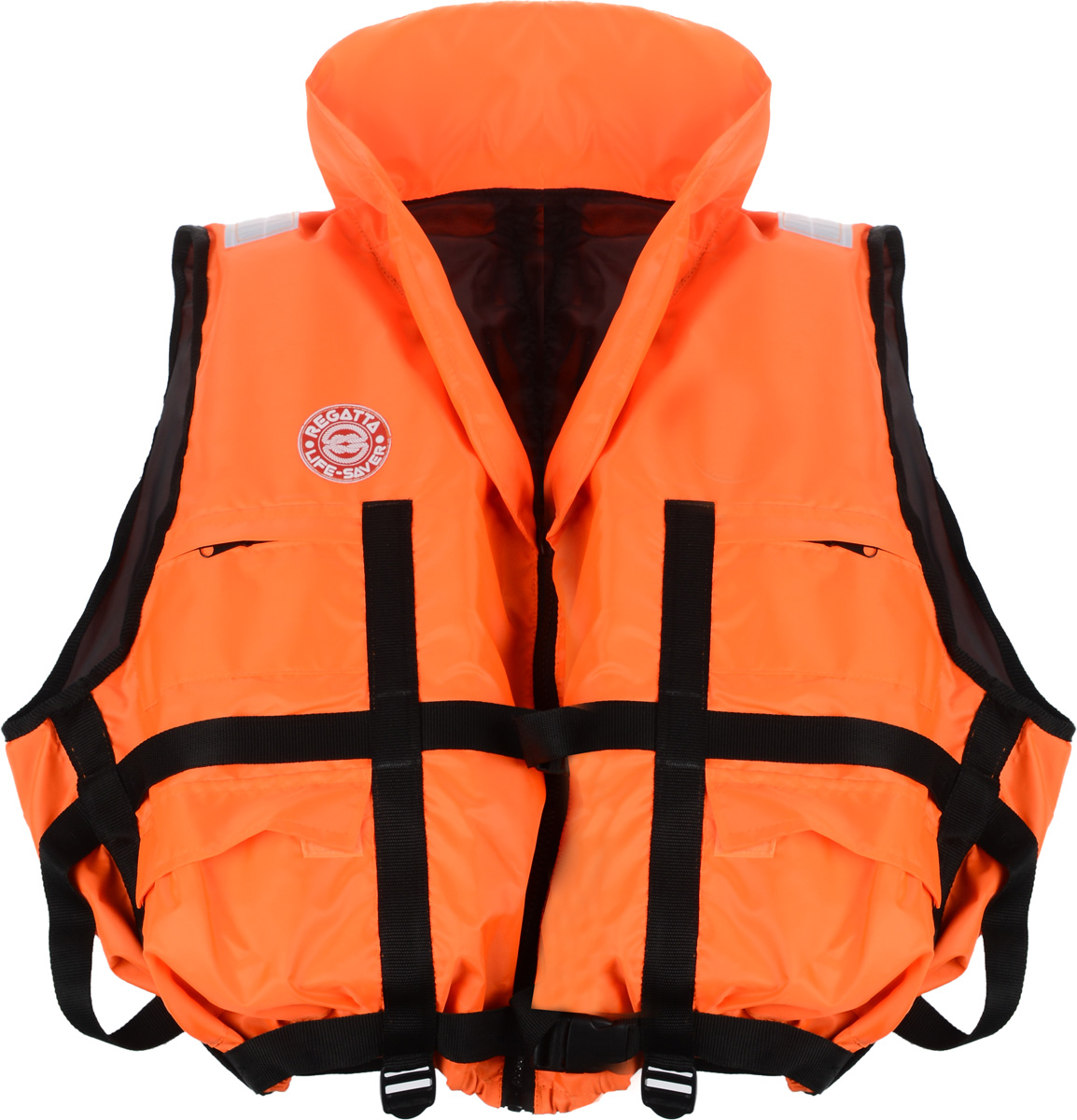 Жилет спасательный Плавсервис Regatta, цвет: оранжевый. Размер 66-72, вес до 140 кг57556Жилет Плавсервис Regatta - серьезно заявляет свои намерения на спасениечеловеческой жизни наводах. Более функциональный и эргономичный жилет за счет измененияконструкции спинки ипроймы, которая позволила обеспечить наиболее полное облегание телавладельца и усилиланадежность правильной фиксации этого жилета при попадании человека в воду.В воде спомощью элементов плавучести этот жилет перевернет владельца в положениелицом вверх иудержит под углом к горизонту так, чтобы обеспечить безопасное положениеголовы над водой. Вкомплект жилета входят регулировочные ремни, светоотражающие полосы,карманы, молния,свисток, подголовник с воротником. На груди предусмотрено два кармана намолнии, а также имеются два удобных объемных боковых кармана с клапаномна липучке. Высокийподголовник хорошо держит голову владельца на плаву и в тоже времяобладает достаточной гибкостью для складывания жилета притранспортировке. Лямка выполнена из ременной ленты плотностью от 16 г/м2 иявляетсястягивающим элементом. В зависимости от размера спасательного жилета еедлина изменяется. Вес: до 140 кг. Размер: 66-72 см.