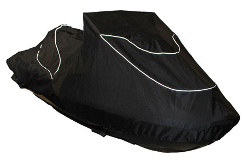 Чехол AG-brand, для гидроцикла BRP RXT 260 RS (2015)AG-BRP-WV-Piranha-TCЧехол AG-brand предназначен для хранения и транспортировки гидроцикла BRP RXT 260 RS. Он изготовлен из высокопрочной плотной тентовой ткани с высоким показателем водоупорности. По нижней кромке чехла вшита плотная резинка, обеспечивающая надежную фиксацию на гидроцикле. Чехол имеет светоотражающий кант, клапана для выхода избыточного воздуха и молнию под заливную горловину бака.В комплект транспортировочного чехла входит прочная текстильная стропа для крепления техники в прицепе или специальном боксе для перевозки.Чтобы любое транспортное средство служило долгие годы, необходимо не только соблюдать все правила его эксплуатации, но и правильно его хранить. Негативное влияние на состояние техники оказывают прямые солнечные лучи, влага, пыль, которые не только могут вызвать коррозию внешних металлических поверхностей, но и вывести из строя внутренние механизмы транспортных средств. Необходимо создать условия для снижения воздействия этих негативных факторов. Именно для этого и предназначены чехлы. Чехол для транспортировки и хранения входит в комплект.