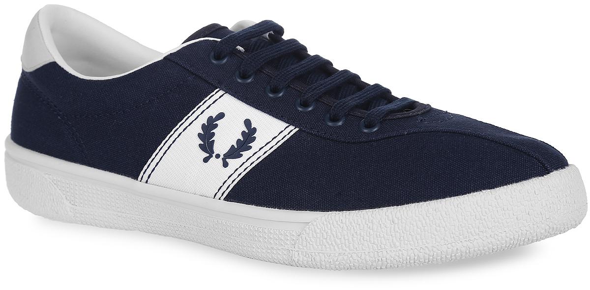 Купить Кеды мужские Fred Perry Sports Authentic B1 Tennis Shoe Canvas, цвет: темно-синий. B102-608. Размер 9, 5 (43)