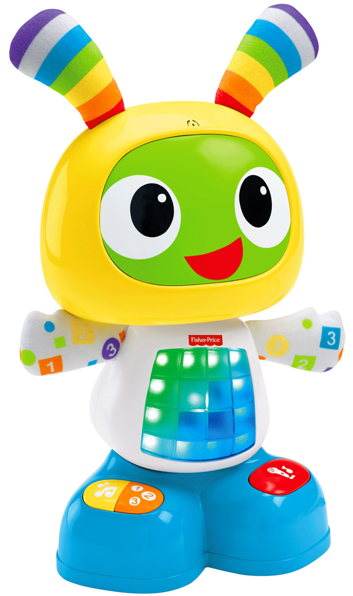 Fisher-Price Развивающая игрушка Обучающий робот БиБо фигурки игрушки fisherprice развивающая игрушка бибо