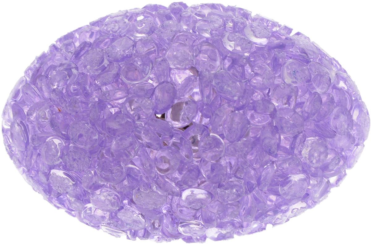 Игрушка для животных Каскад Мячик блестящий. Регби, цвет: фиолетовый, 5,5 х 3,5 см игрушка для животных каскад барабан с колокольчиком 4 х 4 х 4 см