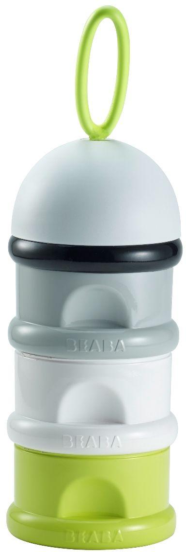 Beaba Контейнер для детской смеси цвет серый белый зеленый контейнер термоизоляционный на украине