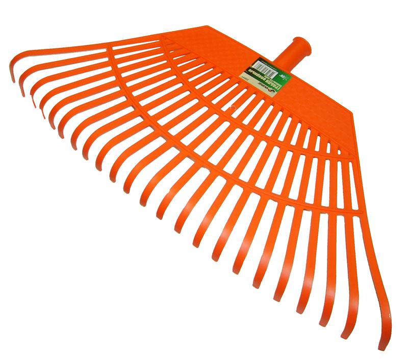 Грабли веерные Skrab, 550 мм, 23 зуба. 2805128051Грабли веерные идеально подходят для уборки листьев, срезанной травы и прочего садового мусора.Высококачественный пластик, из которого изготовлены грабли, гарантируют надежность и долговечность их эксплуатации, выдерживает хранение даже при минусовой температуре.На рабочей поверхности расположены прочные пластиковые зубья, что значительно облегчает процесс уборки, не нанося вреда газону.