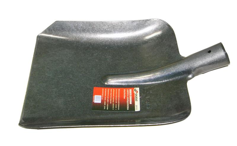 Лопата совковая Skrab, без черенка. 2810328103Лопата совковая предназначена для работы с сыпучими грузами, такими как песок, гравий, уголь, зерно. Изделие имеет форму прямоугольника с закраинами и изготовлено по уникальной технологии из высококачественной стали с добавлением марганца с защитным покрытием.Размер: 23,5 х 27 х 33,5 см