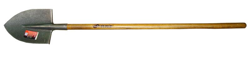 Лопата Skrab штыковая. 2811228112Лопата штыковая (деревянный черенок).Размер: 220х295х390мм.Длина: 1450мм.Металлическая часть изготовлена из высокоуглеродистой стали с добавлением марганца.Закалена и имеет защитное покрытие.Деревянный черенок изготовлен из твердых пород дерева высшего сорта.Применяется для выполнения земляных и строительных работ.