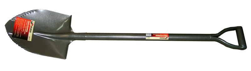 Лопата Skrab штыковая, с зубцами. 2811728117Лопата штыковая (металлический черенок).Размер: 230х300х1100мм.Рифленые края на рабочей части лопаты облегчают работу и снижают утомляемость.Металлическая часть изготовлена из высокоуглеродистой стали с добавлением марганца.Закалена и имеет защитное покрытие.V-образная ручка.Применяется для выполнения земляных и строительных работ.
