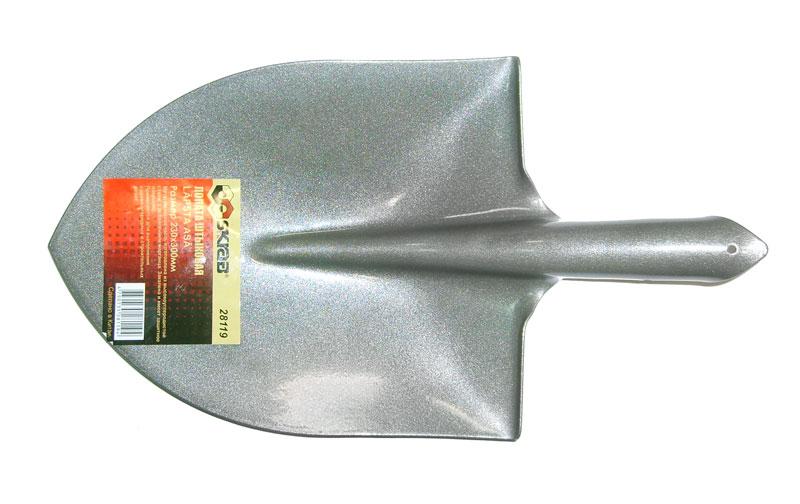 Лопата штыковая Skrab, без черенка. 28119 лопата штыковая усиленная с деревянной рукояткой brigadier 88104