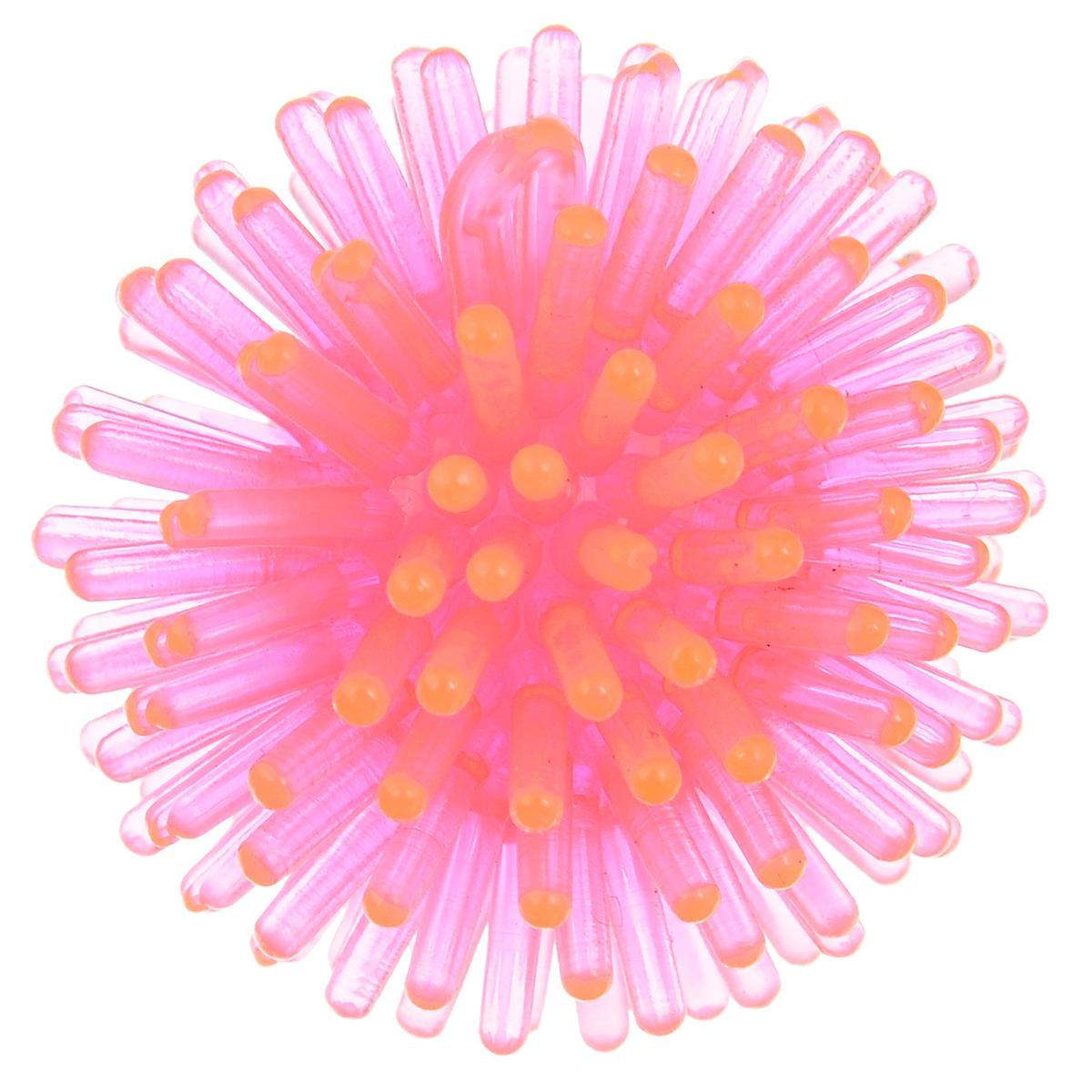 Игрушка для животных Каскад Мячик-шуршик, цвет: розовый, диаметр 3,6 см27799320_розовыйИгрушка для животных Каскад Мячик-шуршик изготовлена из высококачественного латекса. Такая игрушка привлечет внимание вашего питомца и порадует, а вам доставит массу приятных эмоций, ведь наблюдать за игрой всегда интересно и приятно. Диаметр игрушки: 3,6 см.