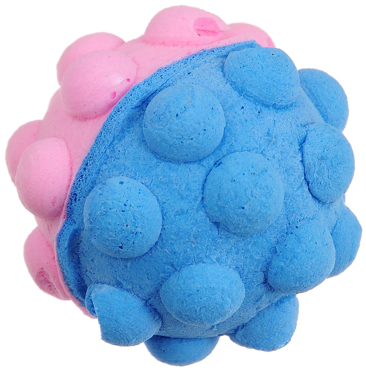 Игрушка для животных Каскад Мячик зефирный. Мина, цвет: голубой, розовый, диаметр 4,5 см27799309_голубой, розовыйМягкая игрушка для животных Каскад Мячик зефирный. Мина изготовлена из вспененного полимера.Такая игрушка порадует вашего любимца, а вам доставит массу приятных эмоций, ведь наблюдать за игрой всегда интересно и приятно.Диаметр игрушки: 4,5 см.