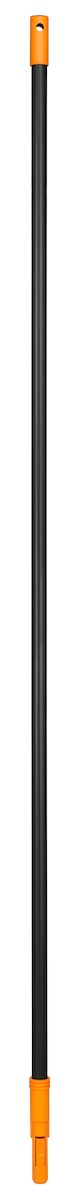 Черенок Fiskars Solid, 160 см135001Черенок Fiskars Solid изготовлен из алюминия, очень легкий и удобный в работе. Используется с пластиковыми граблями, которые крепятся автоматически, без всяких усилий. не нужно ничего закручивать, а снимать немного сложнее -фиксирующий язычок довольно жесткий,и давить на него приходится сильно. Чтобы было удобно хранить,имеется отверстие для подвешивания. Благодаря надежному креплению вы не потеряете насадку во время работы. Длина черенка: 160 см.
