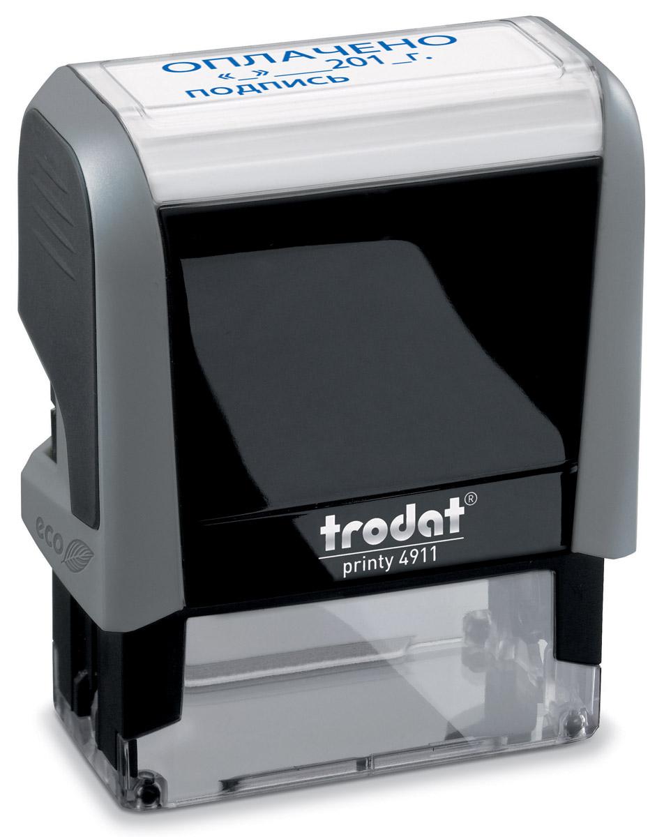 Trodat Штамп текстовый ПолученоPrinter 20N/ИТекстовый штамп Trodat будет незаменим в отделе кадров или в бухгалтерии любой компании.Прочный пластиковый корпус гарантирует долговечное бесперебойное использование. Модель отличается высочайшим удобством в использовании и оптимально ложится в руку. Оттиск проставляется практически бесшумно легким нажатием руки. Улучшенная конструкция и видимая площадь печати гарантируют качество и точность оттиска.Текст оттиска - ПОЛУЧЕНО.Цвет оттиска - синий, размер оттиска - 38 мм х 14 мм.