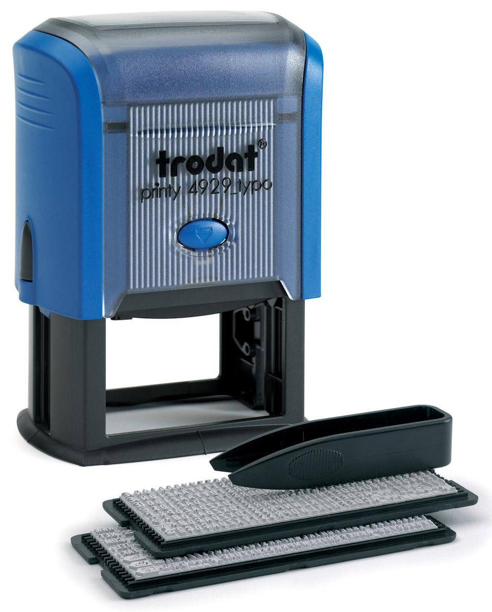 Trodat Штамп самонаборный шестистрочный 50 мм х 30 мм -  Печати, штампы