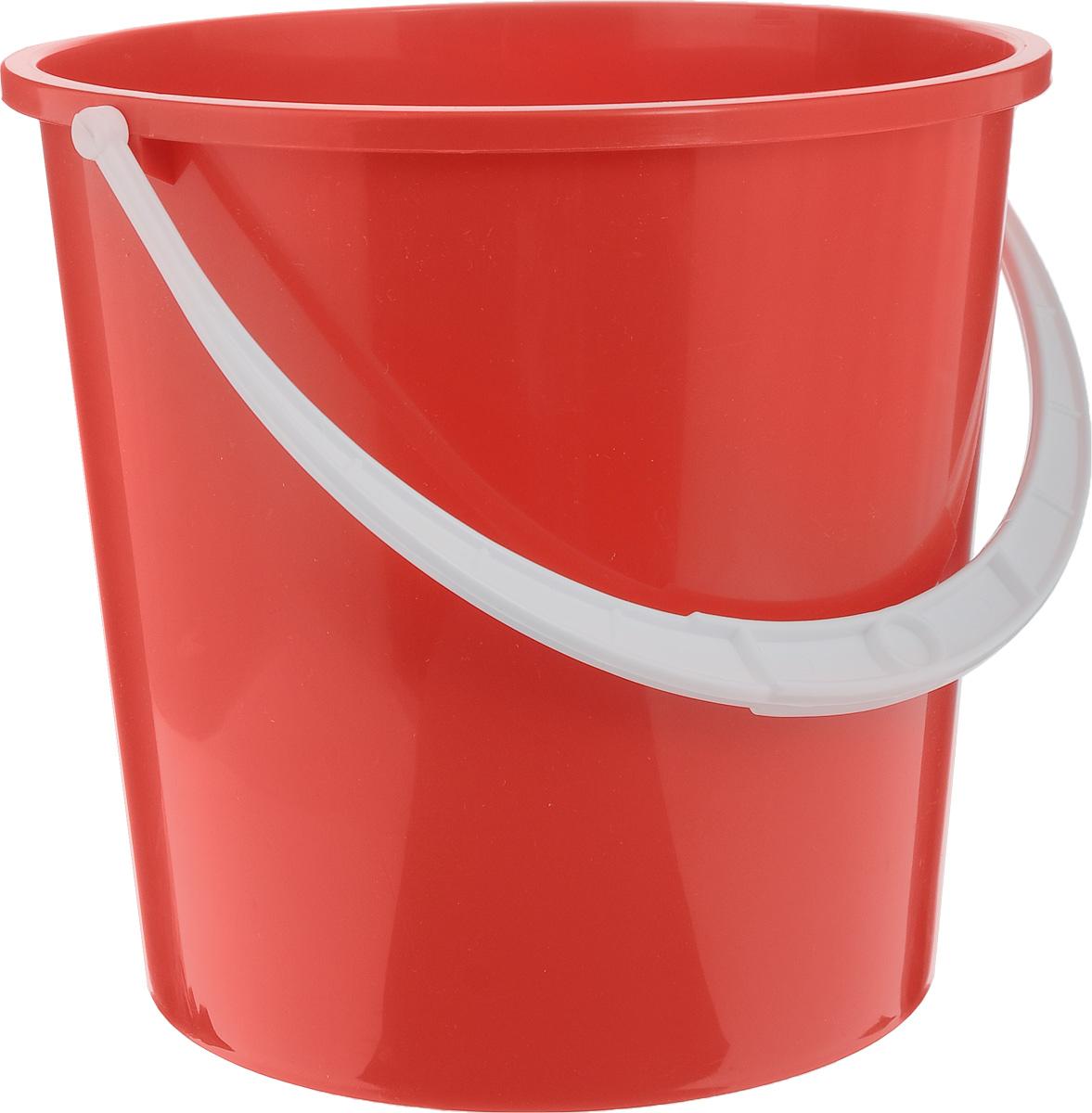 Ведро Альтернатива Крепыш, цвет: красный, 5 лК340_красныйВедро Альтернатива Крепыш изготовлено из высококачественного одноцветногопластика. Оно легче железного и не подвержено коррозии. Ведро оснащено удобной пластиковой ручкой. Такое ведро станет незаменимымпомощником в хозяйстве.Диаметр (по верхнему краю): 22 см.Высота: 20,5 см.