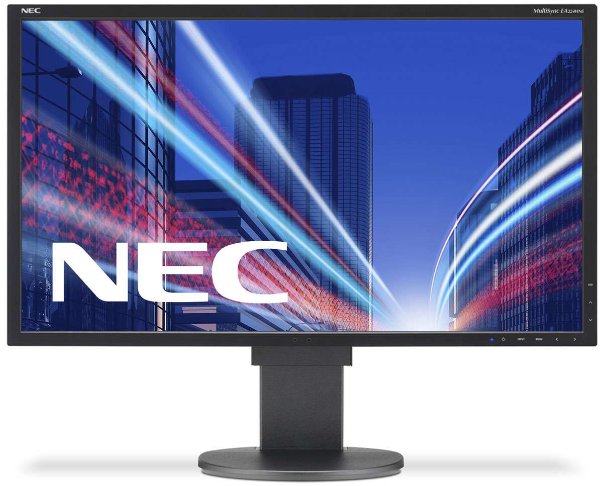 NEC EA224WMi, Black монитор монитор nec 30 multisync pa302w sv2 pa302w sv2