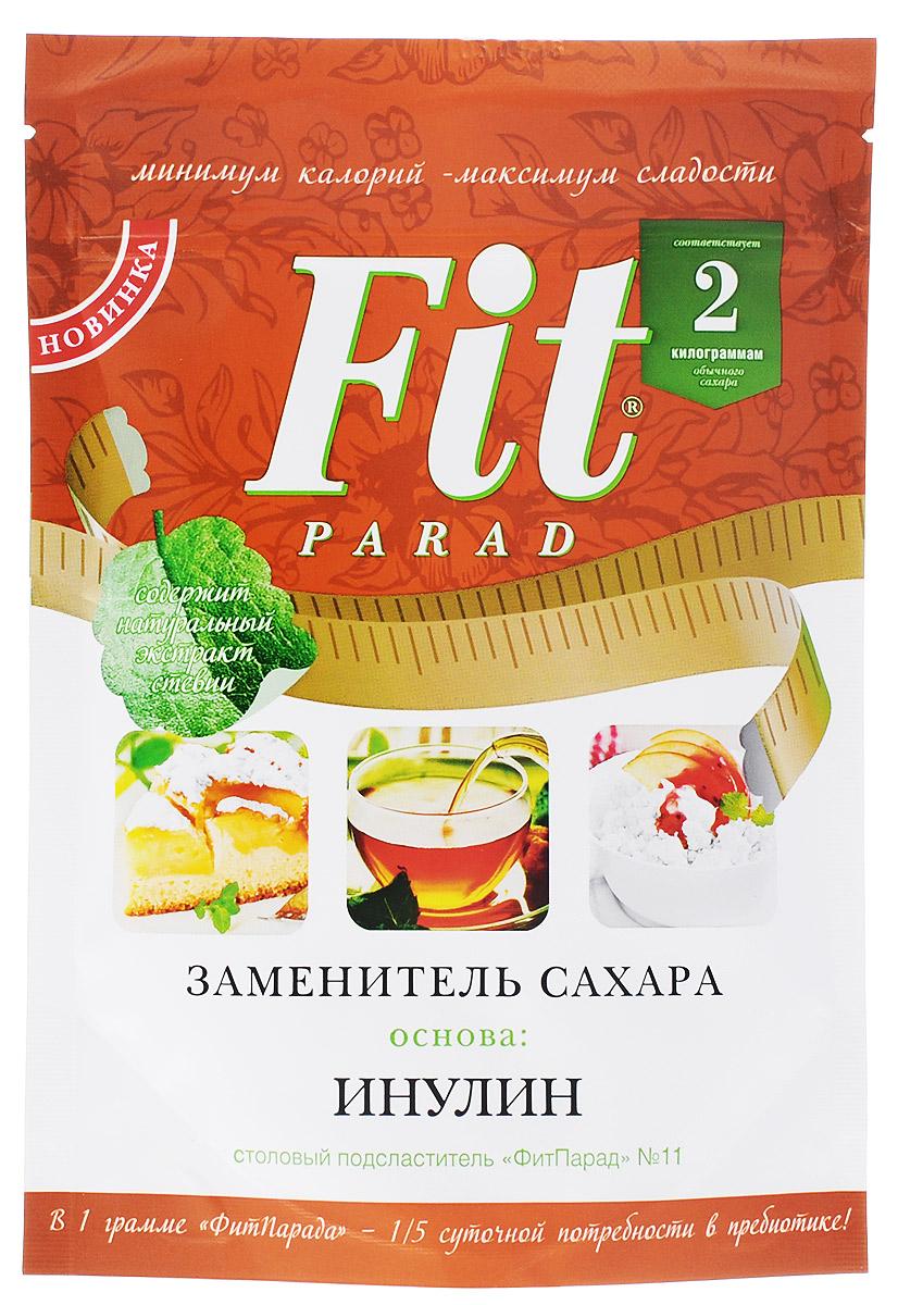 ФитПарад №11 заменитель сахара на основе инулина, 200 г фитпарад 10 заменитель сахара на основе эритрита 200 г