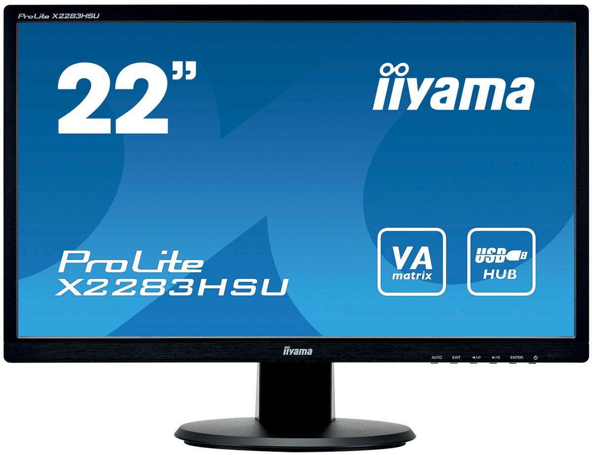 iiyama X2283HSU-B1DP, Black монитор