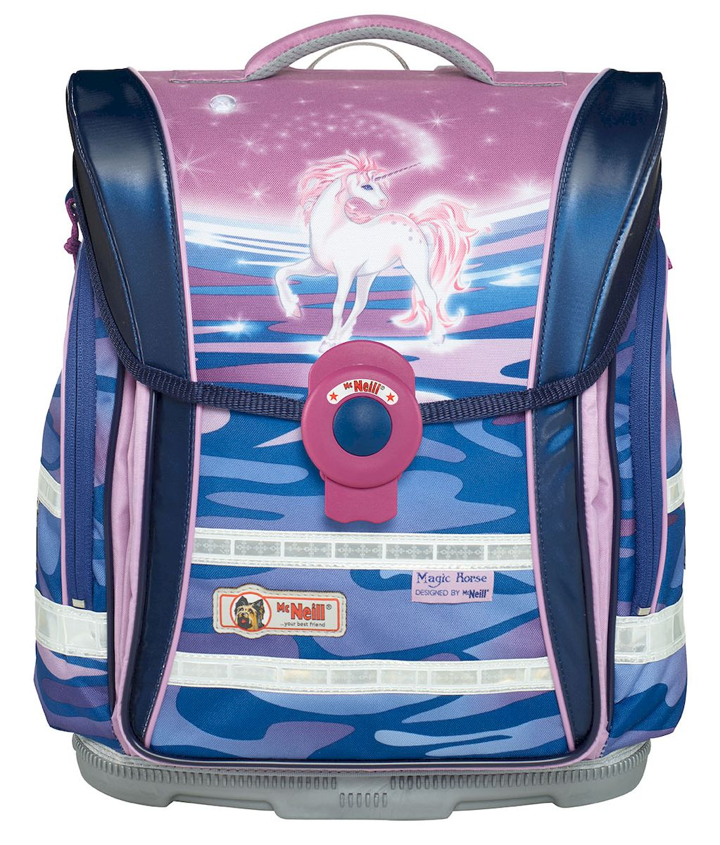 McNeill Ранец школьный Ergo Light Compact Единорог