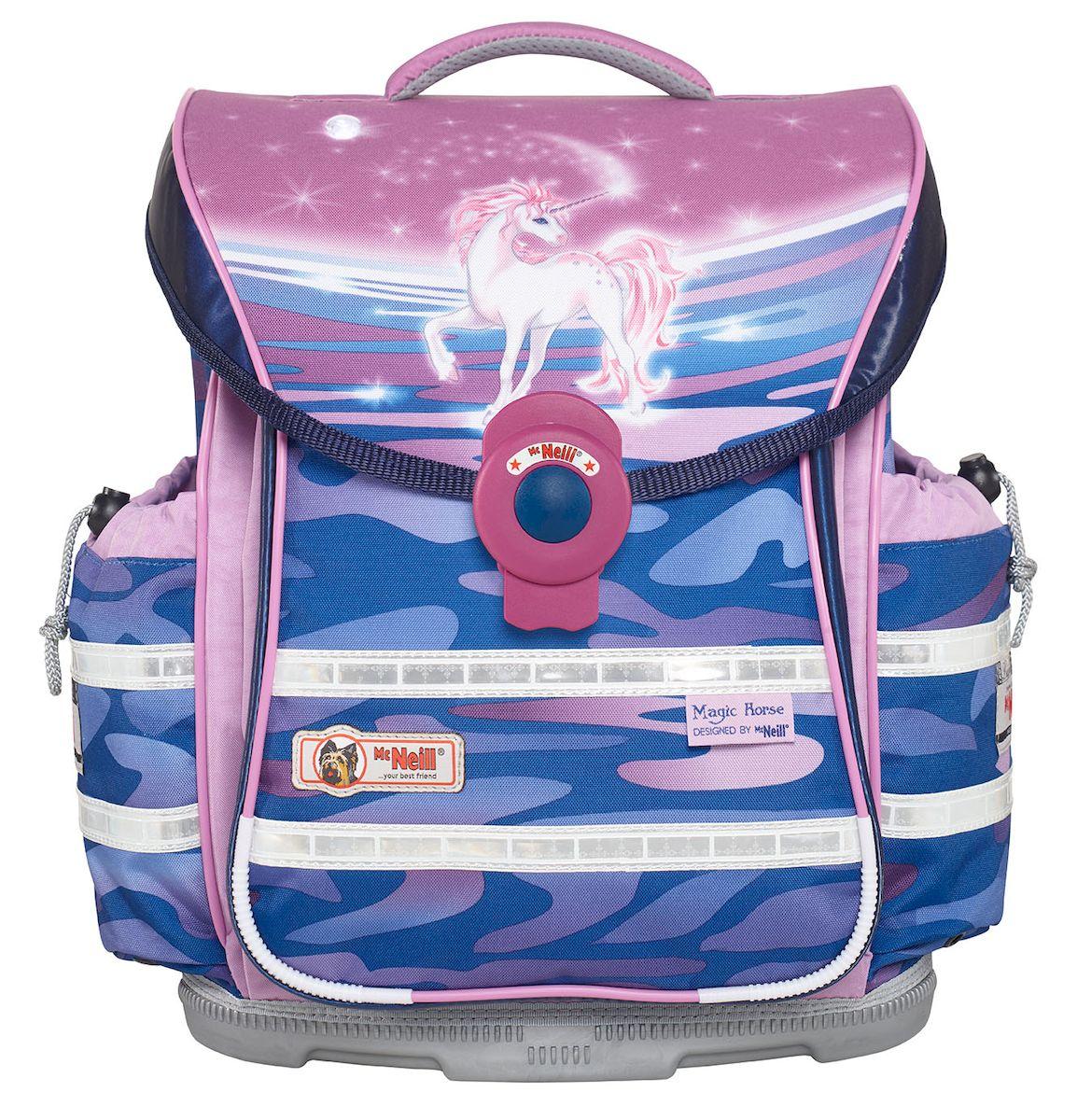 McNeill Ранец школьный Ergo Light Plus Единорог школьные рюкзаки thorka школьный рюкзак mc neill единорог