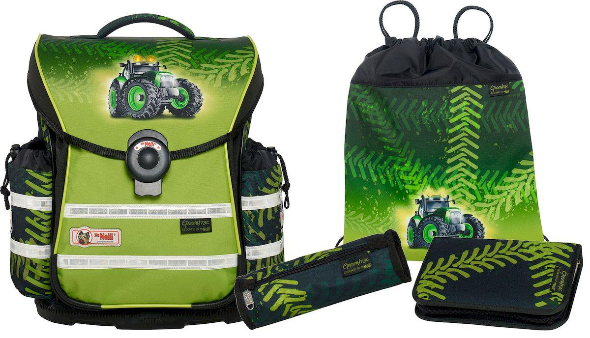 McNeill Ранец школьный Ergo Light Plus Greentrac с наполнением 4 предмета система контроля доступа diy button180kg 125 rfid id ks158