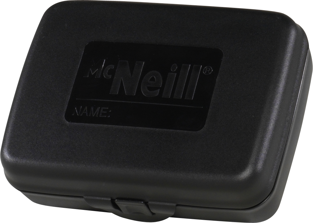 McNeill Контейнер для еды с разделителем цвет черный