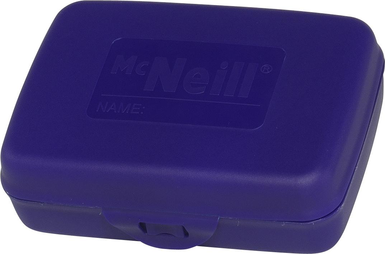 McNeill Контейнер для еды с разделителем цвет синий