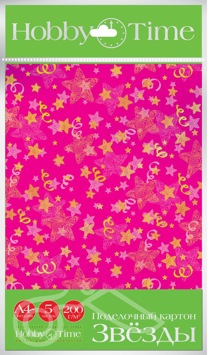 Альт Набор цветного картона Звезды 5 листов11-410-80Набор цветного поделочного картона Альт позволит вашему ребенку создавать всевозможные аппликации и поделки. Набор содержит 5 листов цветного картона с разнообразными звездами. Создание поделок из бумаги и картона поможет ребенку в развитии творческих способностей, кроме того, это увлекательный досуг. Наборы цветного картона от компании Альт - это высокое качество, стильные варианты оформления, оригинальные решения в дизайне. В набор входят 5 листов картона формата А4.