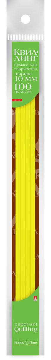 Альт Бумага для квиллинга 10 мм 100 полос цвет желтый goznak набор для квиллинга бумага 300 5мм медиум моно красный qzv m 100 5r