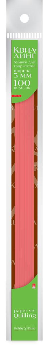 Альт Бумага для квиллинга 5 мм 100 полос цвет красный goznak набор для квиллинга бумага 300 5мм медиум моно красный qzv m 100 5r