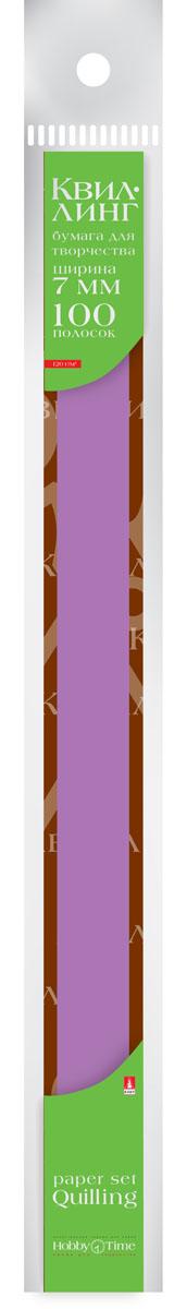 Альт Бумага для квиллинга 7 мм 100 полос цвет фуксия goznak набор для квиллинга бумага 300 5мм медиум моно красный qzv m 100 5r