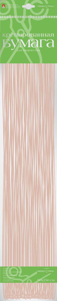 Альт Бумага креповая Перламутровая цвет бежевый2-062/06Креповая бумага Альт Перламутровая - подходящий материал для декора, объемных украшений и игрушек. Гофрированная жатая поверхность обеспечивает особую пластичность. Бумага не деформируется, сохраняет заданную форму, отлично сочетается с текстильными лентами, декоративными элементами. Размер листа: 50 см х 250 см.