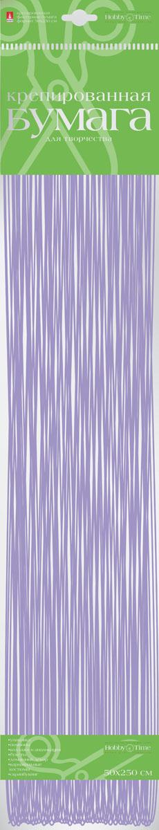 Альт Бумага креповая Перламутровая цвет сиреневый2-062/04Креповая бумага Альт Перламутровая - подходящий материал для декора, объемных украшений и игрушек. Гофрированная жатая поверхность обеспечивает особую пластичность. Бумага не деформируется, сохраняет заданную форму, отлично сочетается с текстильными лентами, декоративными элементами.Размер листа: 50 см х 250 см.