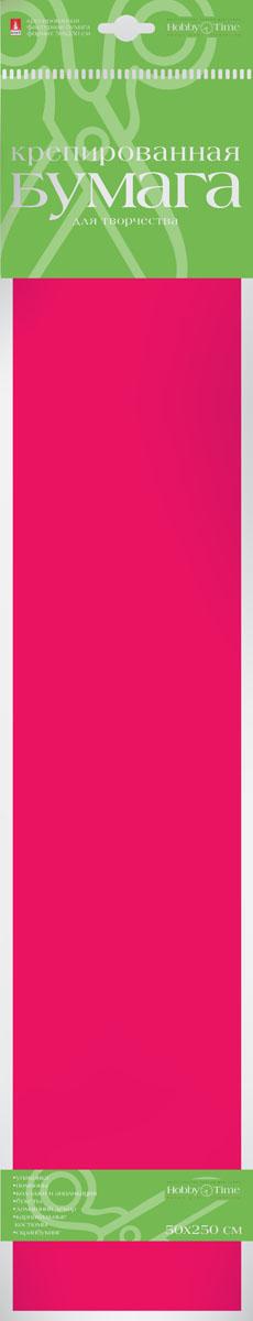 Альт Бумага креповая цвет бордовый2-060/10Креповая бумага Альт - подходящий материал для декора, объемных украшений и игрушек. Гофрированная жатая поверхность обеспечивает особую пластичность. Бумага не деформируется, сохраняет заданную форму, отлично сочетается с текстильными лентами, декоративными элементами. Размер листа: 50 см х 250 см.
