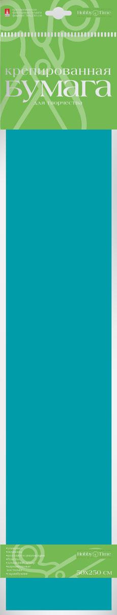 Альт Бумага креповая цвет зеленый2-060/05Креповая цветная бумага позволит вашему ребенку создавать всевозможные аппликации и поделки. Креповая бумага - популярный материал среди поклонников рукоделия. Рельефная гофрированная структура придает бумаге пластичность, прочность, позволяя создавать различную по сложности форму и фиксировать ее в заданном положении. Из такой бумаги можно изготовить разнообразные поделки, помпоны, коллажи и аппликации. Бумага подходит для изготовления искусственных цветов, карнавальных костюмов. Пригодна для скрапбукинга.Работа с цветной креповой бумагой развивает мелкую моторику, усидчивость, внимание, фантазию и творческие способности. С таким богатым материалом ваш ребенок сможет заниматься творчеством круглый год! В набор входит лист фактурной бумаги 50 см х 250 см.